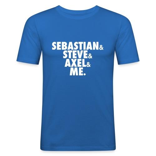 BEATSAUCE House Mafia T-shirt - Maglietta aderente da uomo