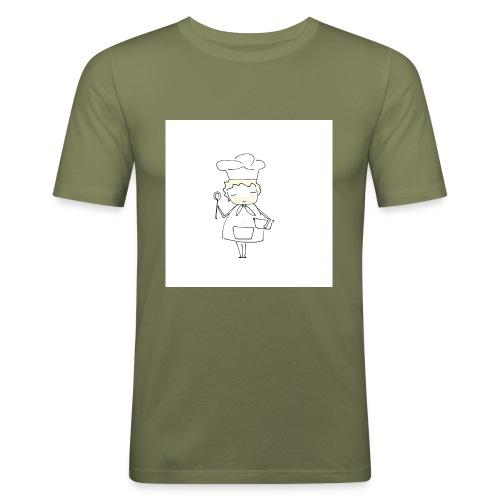 Maglietta 1 - Maglietta aderente da uomo