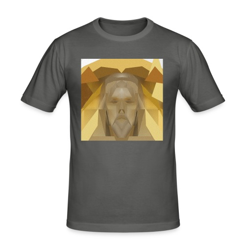 In awe of Jesus - Men's Slim Fit T-Shirt