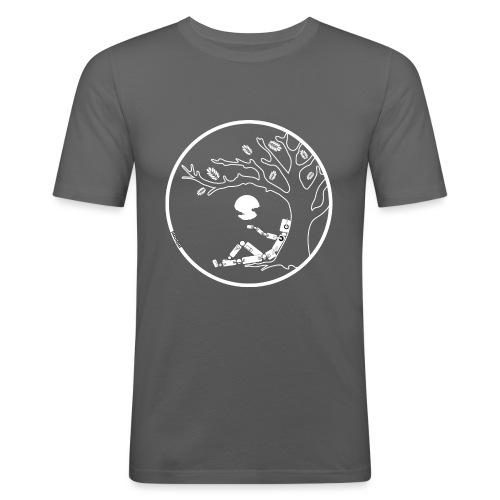 Robot under tree Women - Camiseta ajustada hombre