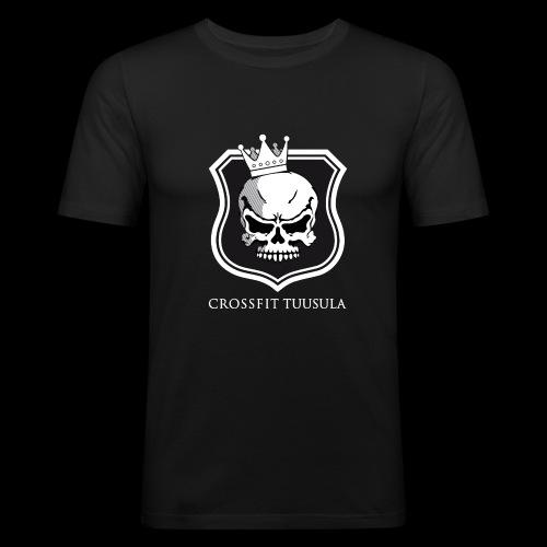 CrossFit Tuusula BW - Miesten tyköistuva t-paita