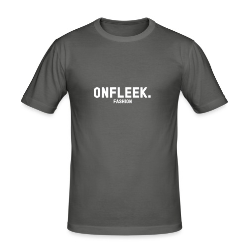 ONFLEEK basis T-shirt - Mannen slim fit T-shirt