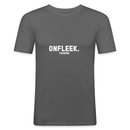 ONFLEEK basis T-shirt - Mannen slim fit T-shirt