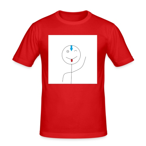 avatar stick man cover 6/6s - Herre Slim Fit T-Shirt
