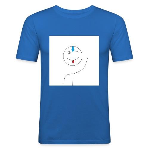 avatar stick man cover 6/6s - Herre Slim Fit T-Shirt