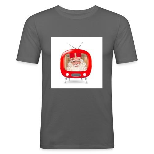 Video van Sint T-Shirt - Mannen slim fit T-shirt