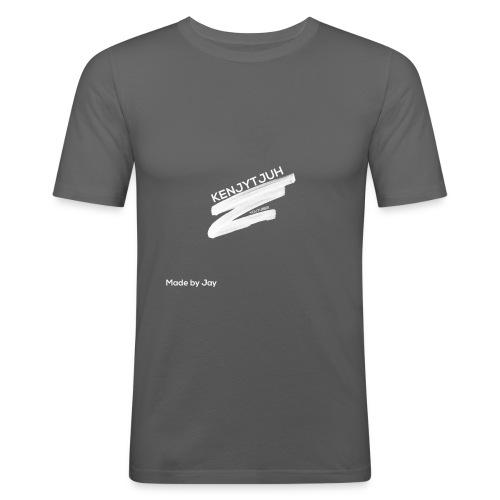 KenjyTjuh Mok - Mannen slim fit T-shirt