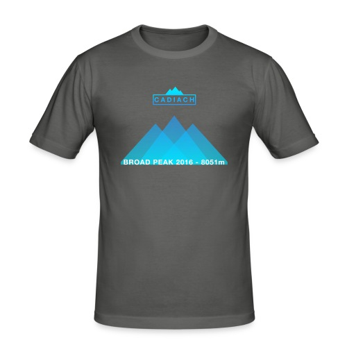 Cadiach Broad Peak 2016 - Mujer - Camiseta ajustada hombre