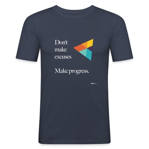 Dont Make Excuses T Shirt - Men's Slim Fit T-Shirt