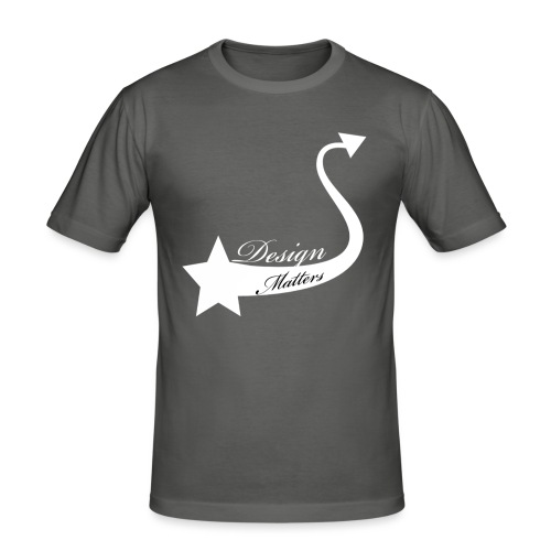 Design&Matters Star Tail - Men's Slim Fit T-Shirt