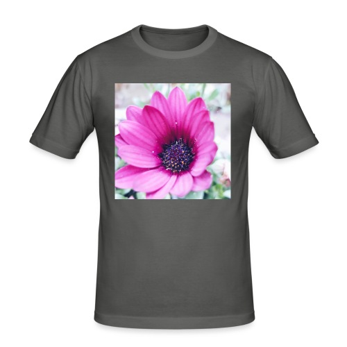 Flowerista - Männer Slim Fit T-Shirt