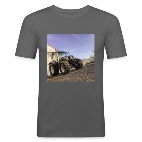 new holland t6080 - Männer Slim Fit T-Shirt