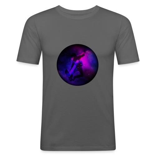 Ride the Univers - Männer Slim Fit T-Shirt