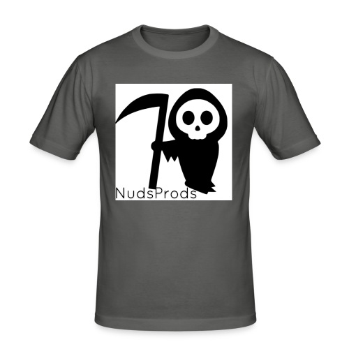 NudsProdsMerch - Mannen slim fit T-shirt