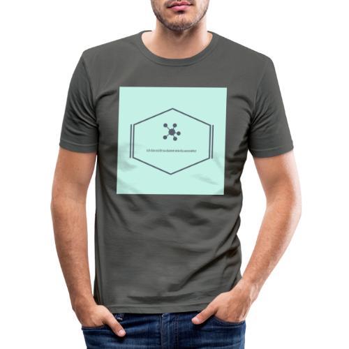 Ich bin nicht so dumm wie du aussiehst - Männer Slim Fit T-Shirt