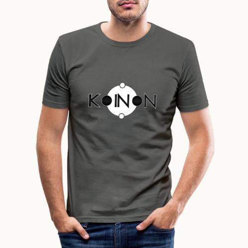 Koinòn Logo - Maglietta aderente da uomo