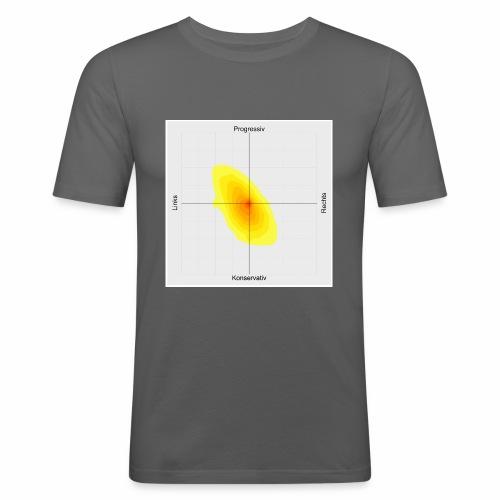 Heatmap - Männer Slim Fit T-Shirt