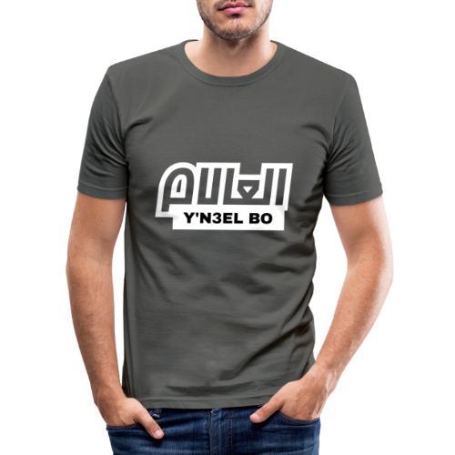 Y'N3EL BO L3ALAM - T-shirt près du corps Homme