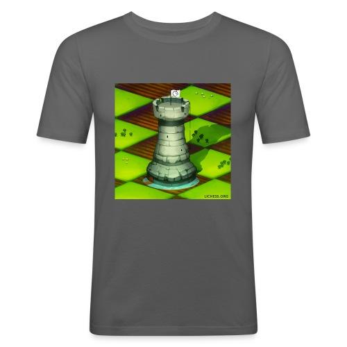 Lichess Castle - Men's Slim Fit T-Shirt