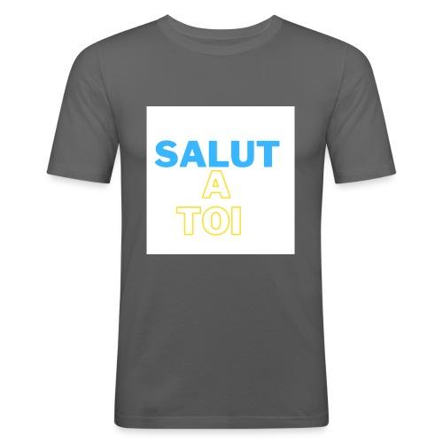 salut 1 - T-shirt près du corps Homme