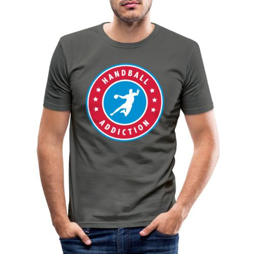 handball addiction - T-shirt près du corps Homme