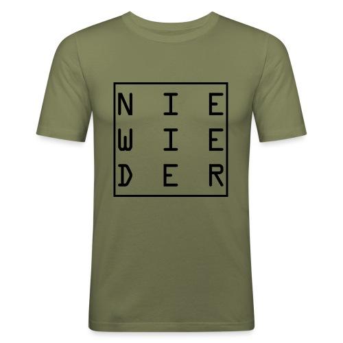 WORTKunstwort 21.2 - Männer Slim Fit T-Shirt