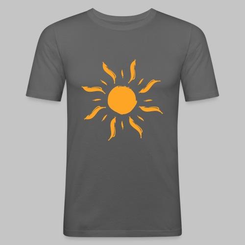 Sonne by ms-creative.com - Männer Slim Fit T-Shirt
