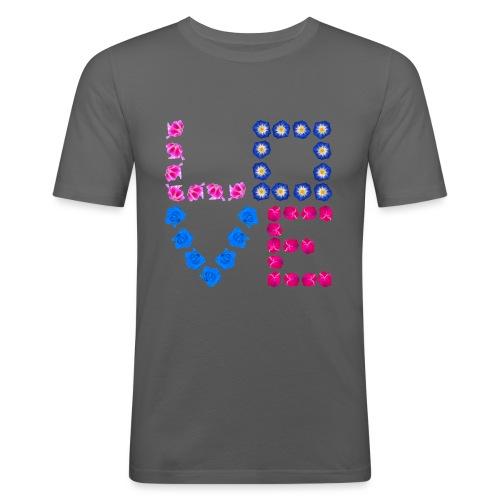 LOVE 21.1 - Männer Slim Fit T-Shirt