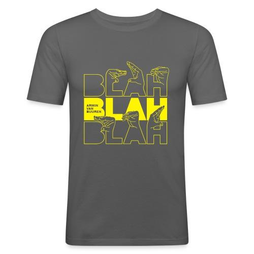 Blah - Men's Slim Fit T-Shirt