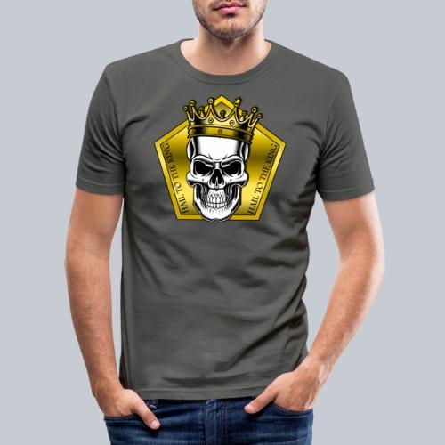 hail to the king - Männer Slim Fit T-Shirt