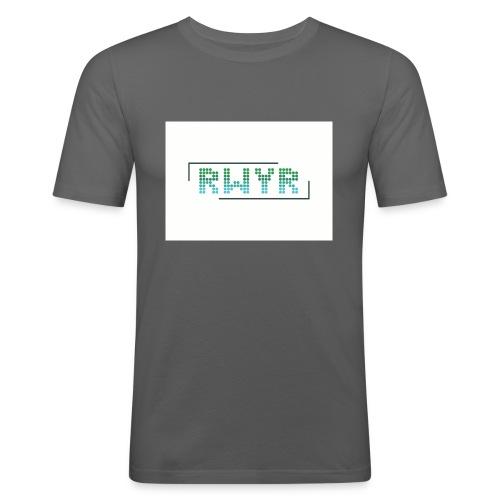 RWYR Normal White - Mannen slim fit T-shirt