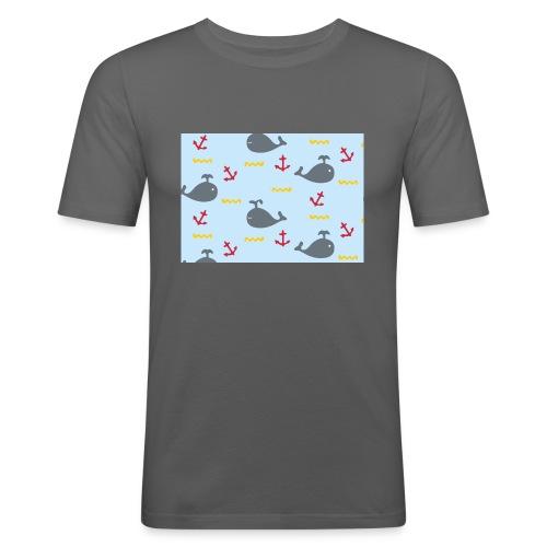 Whale Case - Camiseta ajustada hombre