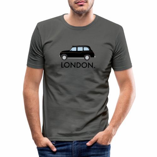 Black Cab - Men's Slim Fit T-Shirt