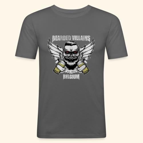 Bearded Villains Belgium - Men's Slim Fit T-Shirt