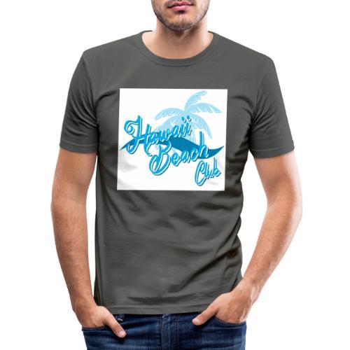 Hawaii Beach Club - Men's Slim Fit T-Shirt