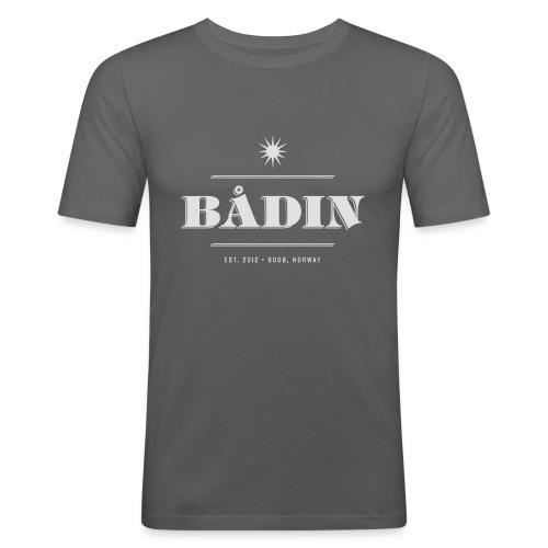 Bådin - white - Slim Fit T-skjorte for menn