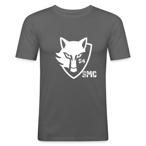 loup blanc - T-shirt près du corps Homme