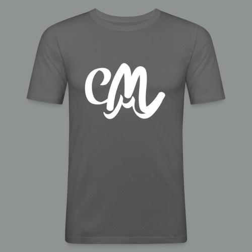 Vrouwen Shirt (voorkant) - Mannen slim fit T-shirt