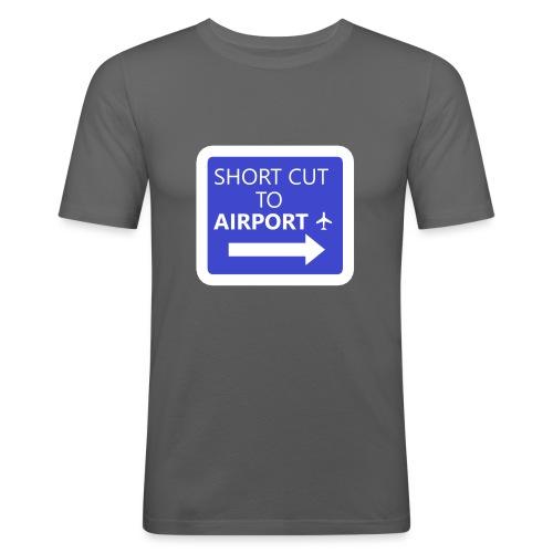 Getaway - Men's Slim Fit T-Shirt