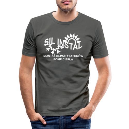 sil instal - Obcisła koszulka męska