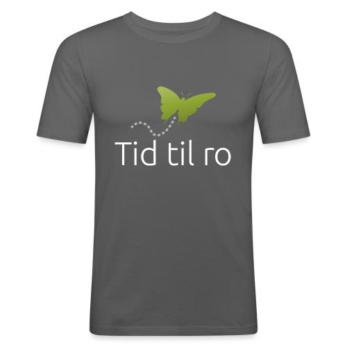 Tid til ro - Herre Slim Fit T-Shirt