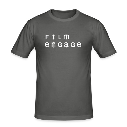 Diseño Logo - Pequeño - Camiseta ajustada hombre