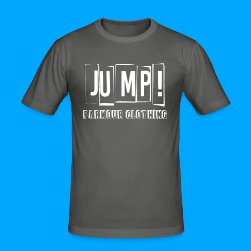 BASIC LOGO JUMP WHITE - Camiseta ajustada hombre