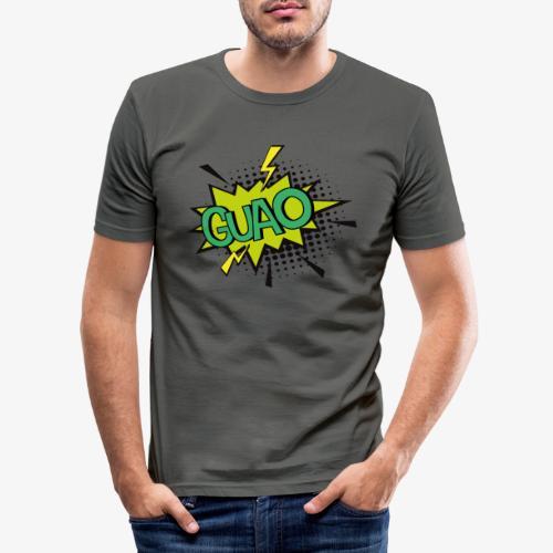 Serie de dibujos animados de los 80s - Camiseta ajustada hombre