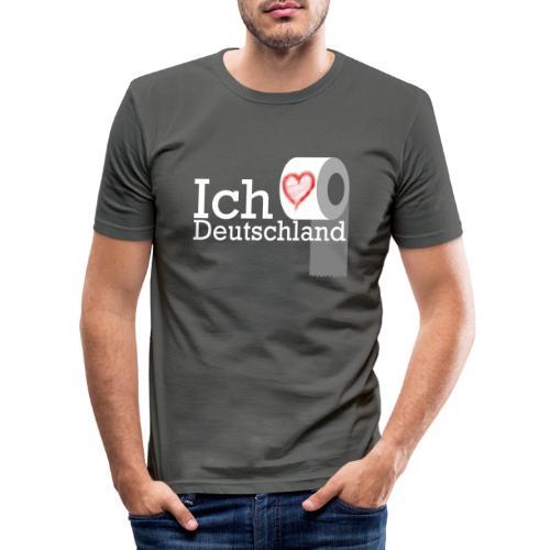 Ich liebe Deutschland - Männer Slim Fit T-Shirt