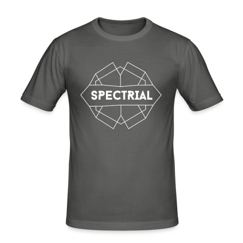 Spectrial Logo - Mannen slim fit T-shirt