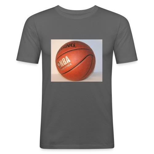 ball_flickr - Miesten tyköistuva t-paita