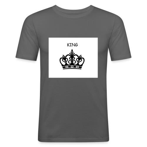 KING CROWN - T-shirt près du corps Homme
