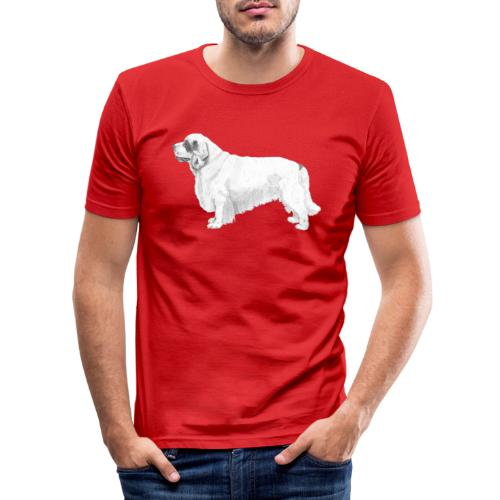 clumber spaniel - Herre Slim Fit T-Shirt