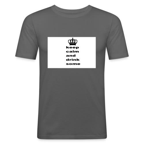 mug - Herre Slim Fit T-Shirt